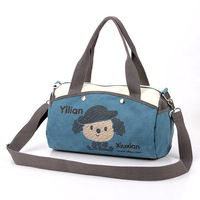 women's cartoon handbag canvas bag women's handbag one shoulder cross-body female female candy handbag canvas bag female