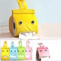 European cute creative home elf fabric tissue box roll holder box Tissue Holder towel tube