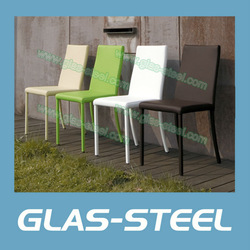 GLAS-STEEL Furniture, Modern Dining Room Chair CY012(China (Mainland))