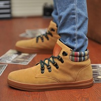 Spring Nubuck Leather Popular Male Fashion Male Skateboarding Shoes Men Casual Shoes