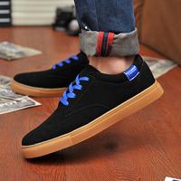 2013 Scrub Color Block Decoration Male Sports Casual Shoes Male Skateboarding Shoes Men's