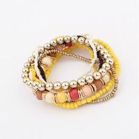 [Min order $15 mixed order]Factory Price 2013 New Arrival Fashion Bracelet Jewelry/Bohemia folk style Beaded Bracelet