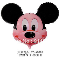 Free Shipping 10pcs/Lot Helium balloon, mickey mouse party balloons,minnie mouse birthday party supplies