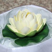 10cm water lotus spatterdock lotus leaf pool fountain decoration props