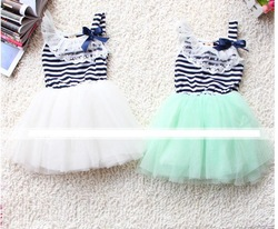 2013 girl new lace collar dress children dresses kid clothing 3 colors high quality A68(China (Mainland))