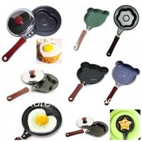 New sweet/lovely breakfast fry pan Hello Kitty omelette pan animal model stainless steel pans free shipping wholesale