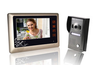 NEW 7 inch Full Color Hands Free Intercom Video Door Phone Cheap / Infrared Night Vision / Touchscreen / Rainproof