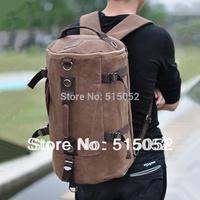 2014 hot duffle double shoulder bag men sports canvas backpack  large capacity men  travel bags for travel