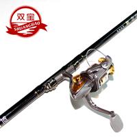 Two bao fishing rod 3.6 4.5 5.4 meters far dual fishing rod set
