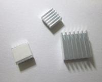 6pcs aluminum Heat SinksFor Raspberry Pi 512M Model B Computer Free shipping