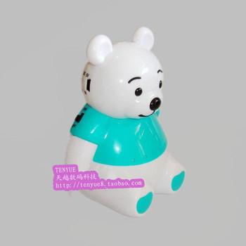 K30 bear cartoon doll speaker card cartoon mini mobile phone speaker card reader speaker cute doll