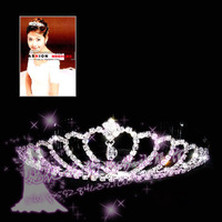 Her hot-selling rhinestone the bride hair accessory hair accessory hg43  earrings