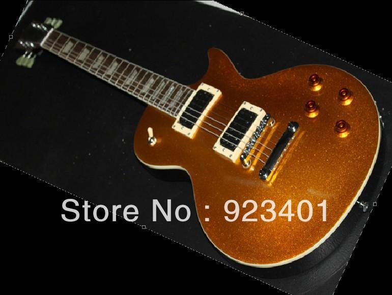 best Factory Mahogany guitar cherry custom slash goldtop Electric Guitar free shipping in stock OEM(China (Mainland))