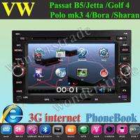 Car DVD Player GPS Radio for volkswagen Passat (MK5) Golf (MK4) Bora Polo MK3,4 Jetta Sharan CITI Golf Chico octavia superb 3g