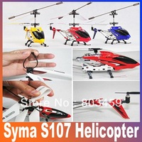 HOT SALE!!Simple Box Package! S107 S107G Metal 3CH RC Helicopter,Remote Control Helicopter,Gyro Toy Free Shipping