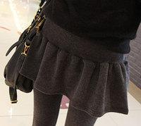 2013 autumn and winter legging skirt female thin basic skirt pants d046