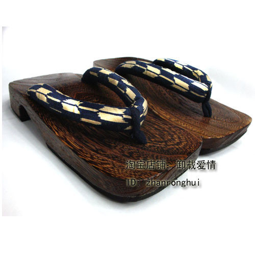 Kimono eleomargaric men&#39;s clogs ark wooden slippers flip flops shoes flip slippers(China (Mainland))