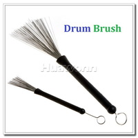 High quality Retractable Metal Steel Wire Strands Drum Brushes Sticks Loop End , 2pcs/lot Dropshipping