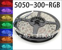 5M 5050 RGB SMD LED Waterproof Flexible Strip 300 LEDs