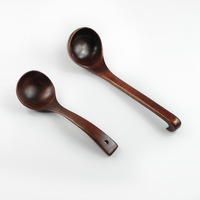 Hot seller quality teaspoon the table utensils vintage style wood spoon, tableware and household wholesale free shipping