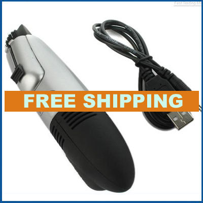 Free Shipping High Quality Turbo Sucking Power 5V USB Vacuum Keyboard Cleaner Dust Collector for Keyboard of Computer PC Laptop