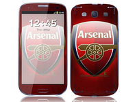 Arsenal fc sticker for i9300  /   soccer standard