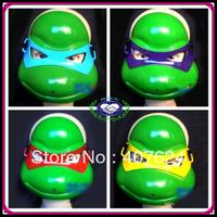 10pcs/lot Free Shipping pvc teenage mutant ninja turtles party supplies cosplay mask pretty masquerade masks