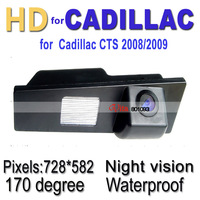 CCD170 degree,Car rear view/reverse camera for Cadillac CTS 2008, 2009 ,Waterproof &Night version, backup car camera