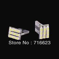 2x T10 1206 9SMD Xenon White LED Car Wedge Signal Light lamp bulb 194 168 W5W   Car interior Lights