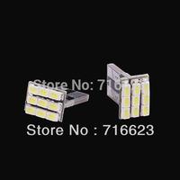 2x T10 1206 9SMD Xenon White LED Car Wedge Signal Light lamp bulb 194 168 W5W   Car interior Lights