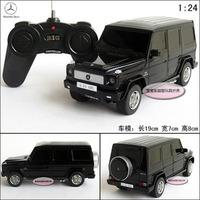 free shipping Xing Hui 1:24 G55 AMG black car remote control car model / educational toys