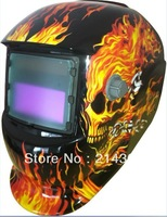 Solar battery supply outside control auto darkening welding helmet/welder goggles/weld mask eyes glasses  free shipping