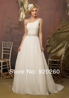 In Finland flew 2013 latest han edition dress one shoulder flower sweet princess inclined shoulder neat dress