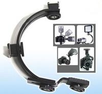 C mount video light flash light hot boots camera