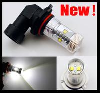 2pcs H10 9140 9145 LED CREE 30W Bright Power Fog Light Bulb Lamp White  DRL Low Beam Headlight  600 Lumen