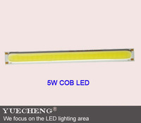 factory supply 5w led bar COB lamp beads best quality 5w surface bar cob LED lamp beads free shipping