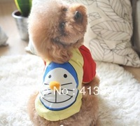 Lovely Jingle Cat Pattern Summer Pet Clothes Dog Clothes T-Shirt, 2 Colors Available Free Shipping