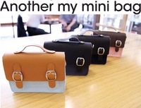 Mini vintage digital camera bag messenger bag messenger bag female 110g