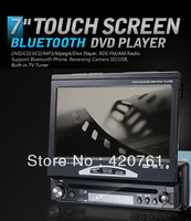 EMS/DHL free shipping 7 inch touch screen DVD with GPS