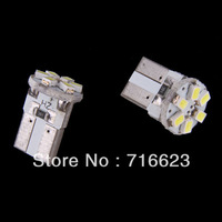 2x T10 1206 6SMD Xenon White LED Car Wedge Signal Light lamp bulb Side/Indicator/Dash Bulbs/Wedge Bulbs/Dashboard Lights