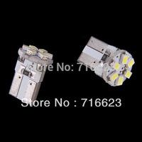 2x T10 1206 6SMD Xenon White LED Car Wedge Signal Light lamp bulb Side/Indicator/Dash Bulbs/Wedge Bulbs/Dashboard Lights