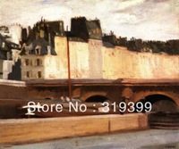 Edward Hopper Oil Painting Reproduction on Linen Canvas,the mansard roof 1923,Free DHL Shipping,00%handmade,Museam Quality
