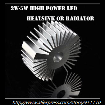 Aluminum Heatsink/Radiator 3W to 5W High Power Led Chips Welcome Wholesalers