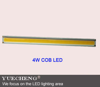 factory supply 4w led bar COB lamp beads best quality 4w surface bar cob LED lamp beads free shipping