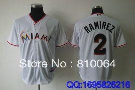custom satin baseball jackets Marlins 2 Ramizea baseball jackets free shiping