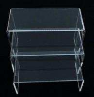 Acrylic display rack purse frame piece set showcase display rack digital cosmetics accessories full transparent