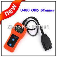 Free Shipping Original U480 SEAT CAN-BUS OBD OBD2 Code Reader Scanner for VW AUDI SJW-0368