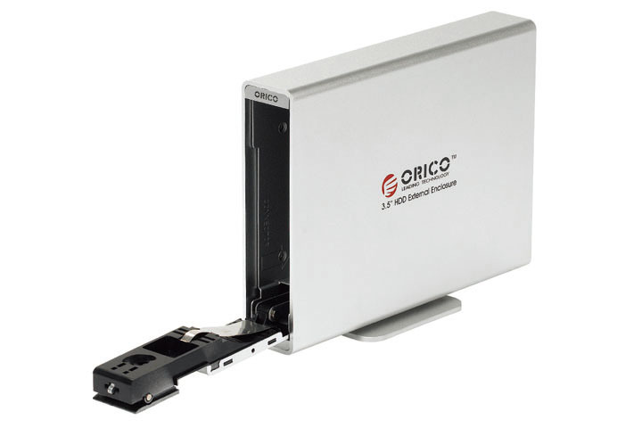 Orico 7619es3 usb3.0 3.5 aluminum aes encryption serial port mobile hard drive box(China (Mainland))