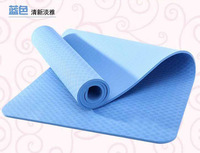 Fast Shipping! 6mm TPE Professional Export Quality OEM Wemon Men Yoga Mat Pad 173cm*61cm Outdoor Shore Yoga Exercise Slimming