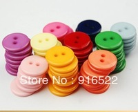 free shipping button garment accessories candy color shirt buttons children 9 mm